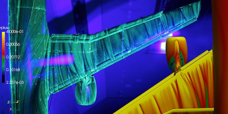 Zenotech software takes off at a NASA CFD High Lift Prediction Workshop