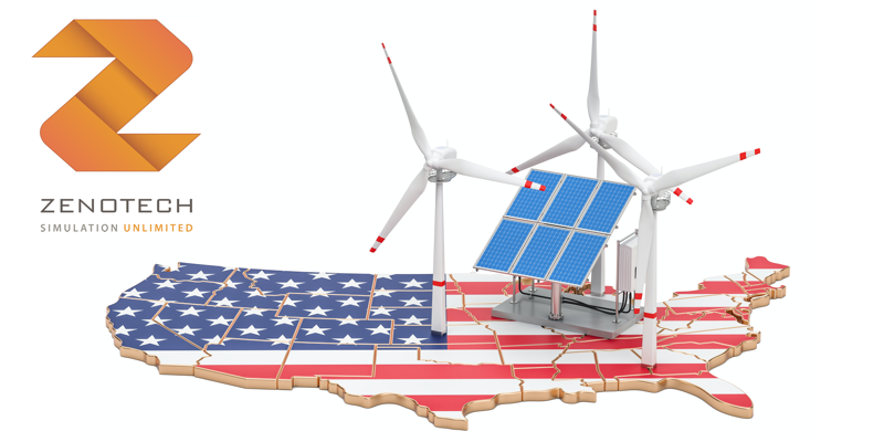 Promoting the power of the UK's offshore wind energy sector to the USA