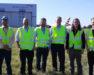 Future Flight SafeZone team at Cardiff Airport